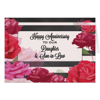 Wedding Gift Ideas For Daughter And Son In Law : Daughter And Son In Law Wedding Anniversary Gifts - Shirts, Posters ...