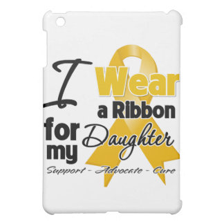 Daughter - Appendix Cancer Ribbon iPad Mini Covers