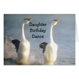 DAUGHTER BIRTHDAY DANCE CARD