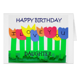 DAUGHTER BIRTHDAY=UR SPECIAL CARD