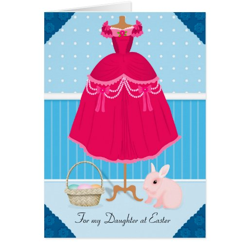 Daughter Card: Happy Easter to my Daughter