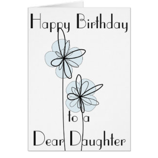 DAUGHTER GREETING CARD