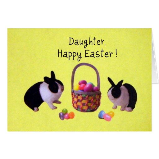 Daughter, Happy Easter! Card
