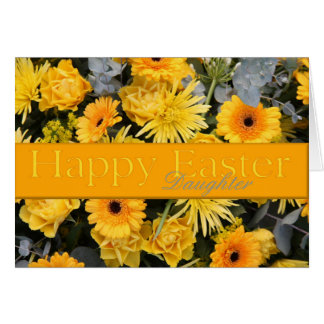 Daughter Happy Easter Greeting Card
