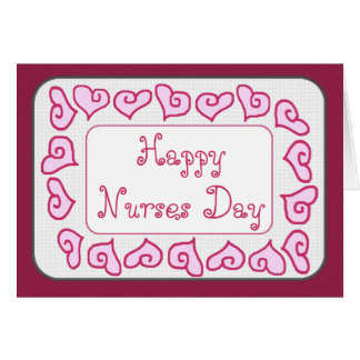 DAUGHTER - Happy Nurses Day Customizable Card