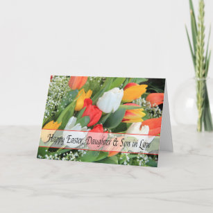 Happy easter to husband gifts gift ideas zazzle uk daughter husband happy easter christmas card negle Images
