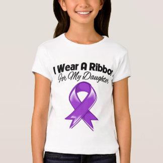 Daughter  - I Wear Purple Ribbon Tees