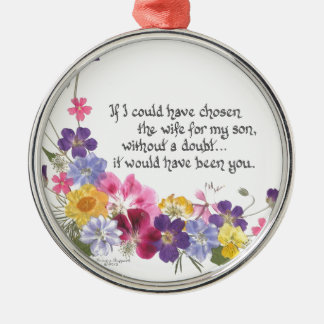 Daughter-in-Law gift Christmas Ornament