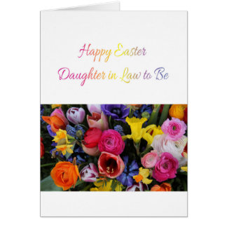 Daughter in Law  Happy Easter Greeting Card