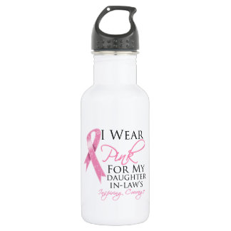 Daughter-in-Law Inspiring Courage Breast Cancer 532 Ml Water Bottle