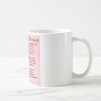 Daughter in Law Poem - 21st Birthday Coffee Mug