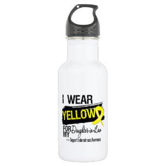 Daughter-in-Law Yellow Ribbon Endometriosis 532 Ml Water Bottle