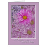Daughter-in-law's Birthday with Gerbera  Daisies Greeting Card