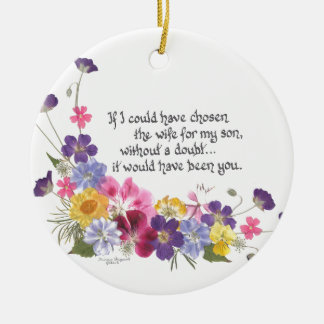 Daughter-inLaw Gifts Christmas Ornament