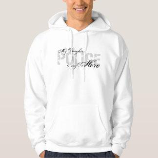 Daughter Is My Hero - POLICE Sweatshirts