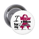 Daughter - Multiple Myeloma Ribbon 6 Cm Round Badge