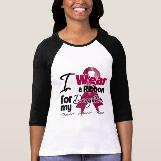 Daughter - Multiple Myeloma Ribbon T Shirt
