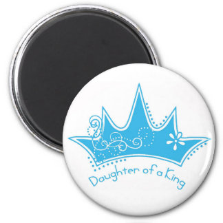 Daughter of a King 6 Cm Round Magnet