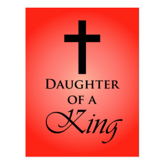 Daughter of a King Postcards