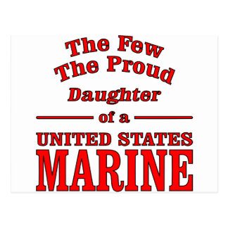 Daughter Of A United States Marine Postcard