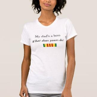 Daughter of a Vietnam Veteran Tee Shirt