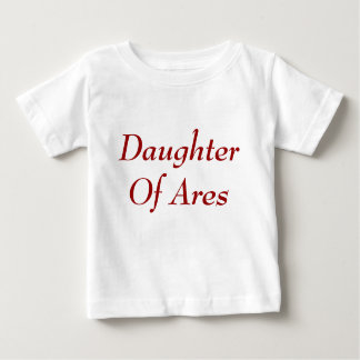 Daughter of Ares baby shirt