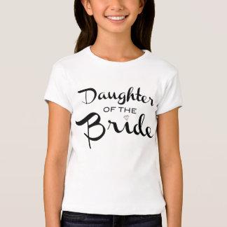 Daughter of Bride Tee Black