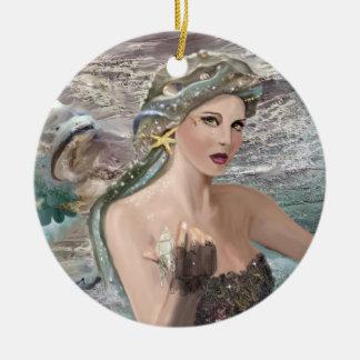Daughter of Oceanus Christmas Ornament