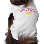 Daughter Of The Bride Sleeveless Dog Shirt