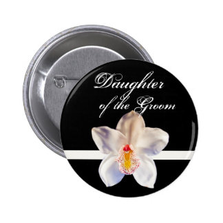 Daughter Of The Groom Wedding ID Badge