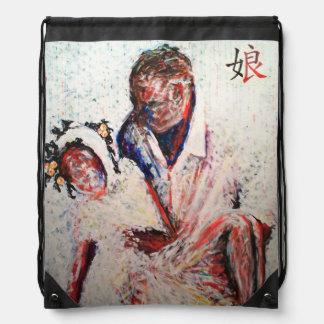 Daughter: Out of the Dust - Art by Nazaire #Haiti Rucksack