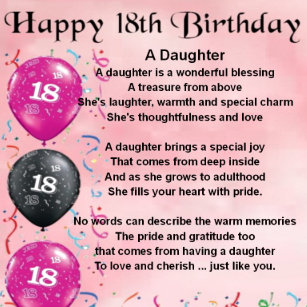 Daughter 18th Birthday Gifts Gift Ideas