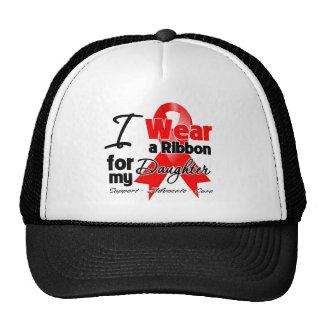 Daughter - Red Ribbon Awareness Cap