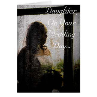 Daughter s Wedding Day Cards