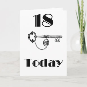 DAUGHTER SON 18TH BIRTHDAY CARD