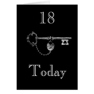 DAUGHTER/SON 18th BIRTHDAY CARD