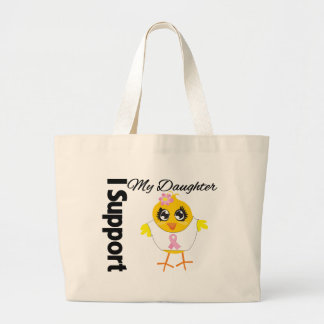 Daughter Support Breast Cancer Bags