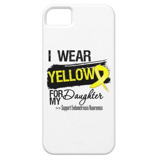 Daughter Yellow Ribbon Endometriosis iPhone 5/5S Cases