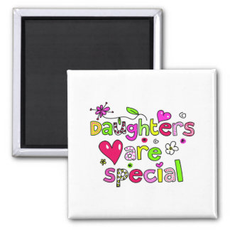 Daughters are Special Square Magnet