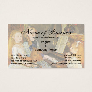 Daughters of Catulle Mendes; Pierre Auguste Renoir