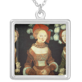 Daughters of Duke Heinrich of Frommen Silver Plated Necklace