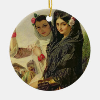 Daughters of the Alhambra Christmas Ornament