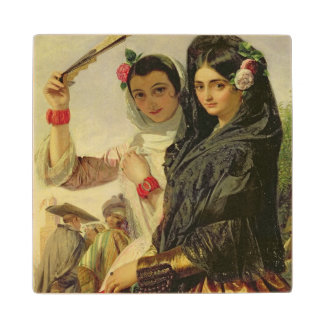 Daughters of the Alhambra Wood Coaster