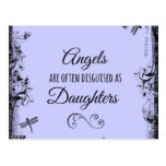 Daughters Quote: Angels are often