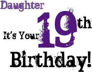 19th Birthday Cards   Zazzle UK