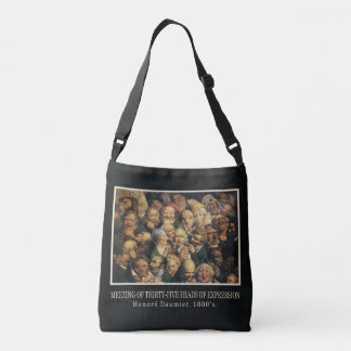 Daumier's Expressions art bags Tote Bag