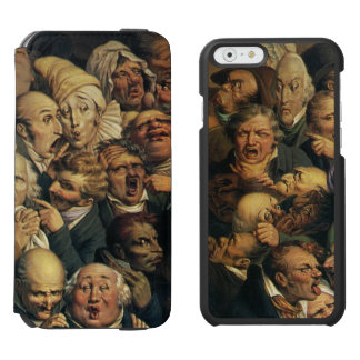 Daumier's Expressions art phone wallets Incipio Watson™ iPhone 6 Wallet Case