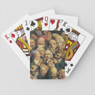 Daumier's Expressions playing cards