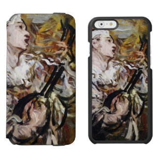 Daumier's Pierrot art phone wallets Incipio Watson™ iPhone 6 Wallet Case