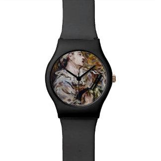 Daumier's Pierrot art watches